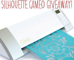 Silhouette Cameo Machine GIVEAWAY via Kara's Party Ideas KarasPartyIdeas.com