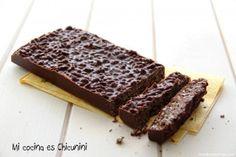 Receta de Turrón de chocolate (Con y sin Thermomix)