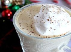 Sugar Free Low Carb Egg Nog Recipe....  I would use unsweetened almond milk or coconut milk! #recipes