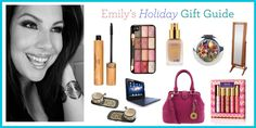Emilynoel83 Holiday Gift Guide on tartecosmetics.com