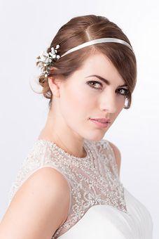 Elegante Brautfrisuren zum träumen.