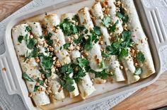 Thai Chicken Enchiladas. Yummy :)