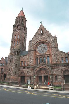 St. Mary's-beautiful old church in Yonkers NY
