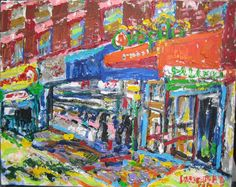 "PHILIP LAWRENCE SHERROD NA..(*FOUNDER*/-..-*STREET*PAINTERS)!? -(STREET*PAINTER)-*PAINTING*-..(*NYC*/-..*PLEIN*AIR*!)? TITLE: -""*23rd*STREET/-..-7*th*AVE/-..-Wed.2:30pm./-…-*AUGUST*/-..-*NYC(!)""?  MED:OIL/-ACRYLIC/-CANVAS.  SIZE: 16"" X 20""  DATE: 2012   artist's©copyright-2012"
