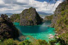Lake Kayangan, Coron Island, Palawan.