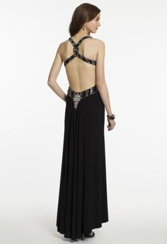 Jersey Cut Out Dress with Twist Back Straps from Camille La Vie and Group USA