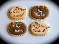 Thanksgiving Cookies | Flickr