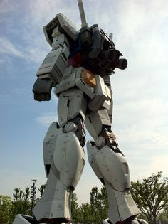 The Gundam statue is an 18 meter tall statue located in Diver City Tokyo, Odaiba, Tokyo, Japan.