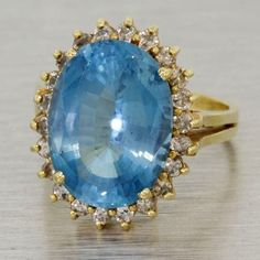 4. Something Blue #modcloth #wedding  Antique topaz