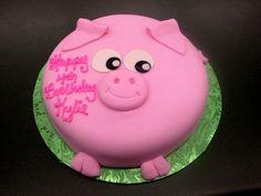 what a cute cake idea!! =] so simple!