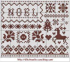 grille gratuite de 123 citrouille noel christma, xmas cross, noel cross, christma project, needlework inspir, christma craft, cross stitches, christma crossstitch