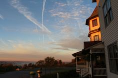 Sunrise at Hurst House Bed and Breakfast, Ephrata, Lancaster County PA. See more at: http://hursthousebandb.com/