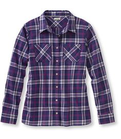 Freeport Flannel Shirt: Casual   Free Shipping at L.L.Bean