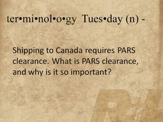 Terminology Tuesday