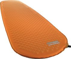 If you're going to sleep on the ground, might as well be comfortable. Mattress by Therm-a-Rest $59.95