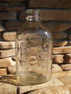 Bowman Milk bottle Vintage
