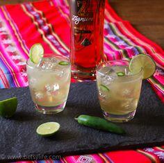 Chili Ginger Margarita
