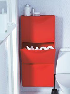 IKEA Banyo - Küçük mekanlar yaratıcı çözümler ister.