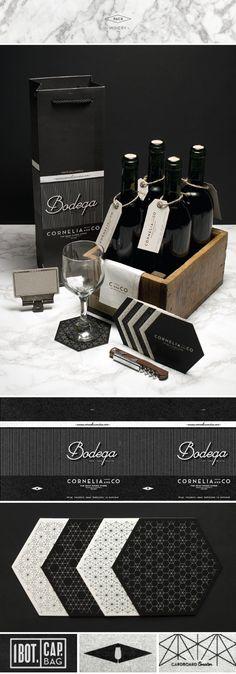 pinterest.com/fra411 #branding - CORNELIA and CO [ Brand identity & Packaging ] by Oriol Gil, via Behance