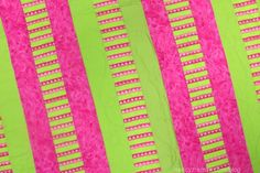 """There are online instructions on how to make a """"Quilt to Give"""" design. This blog from Nancy Zieman shows how to make the easiest of the Quilt To Give designs, using striped fabric as the middle column unit. Go to wwwquiltotgive.com to view the 10-lessons."""