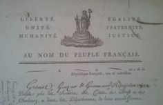 Liberté, unité, humanité, égalité, fraternité, justice. Au nom du peuple français.