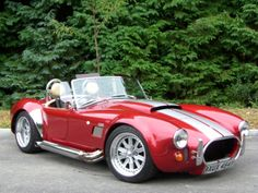 Factory five model of the shelby cobra.