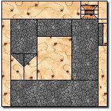 sewing machine quilt block pattern