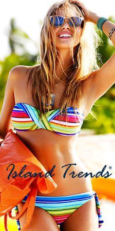 bath suit, fashion, style, swimsuit, swim suit, summer bikinis, beach, stripe, bright colors
