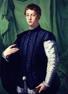 Bronzino (Agnolo di Cosimo) ~ Portrait of Ludovico Capponi, 1551