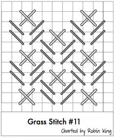 Grass stitch - Robin King