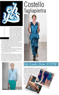 """""""NYFW Stand Out: Costello Tagliapiertra"""" by the-kwas on Polyvore"""