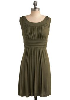 I Love Your Dress in Olive, #ModCloth