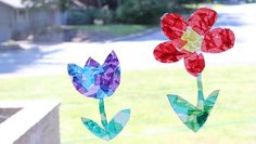 Make It: Easy Paper Sun Catchers - this is a great one to get your own children involved. Make a few of these, then mail a couple to your sponsored children. idea, simple summer kids crafts, paper sun, summertime kid crafts, summer kid crafts, sun catcher, summertime kids crafts, sun kids craft, summer art activities
