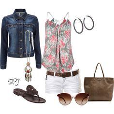 short, concert outfits, dream closet, jeans, summer outfits, jean jackets, denim, fashion designers, tank