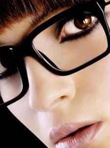 Eye makeup to work with glasses