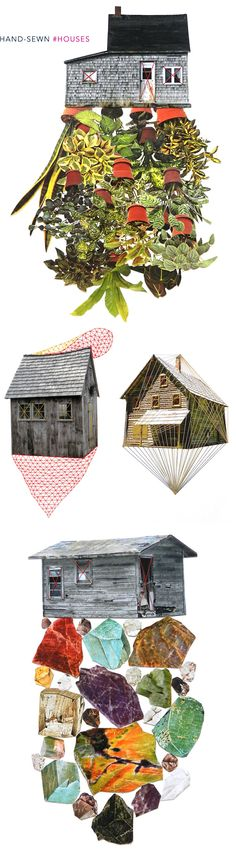 Art Roundup: Houses, by @JealousCurator on the blog today.