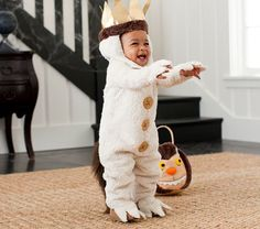 "Baby Where The Wild Things Are Max Costume from ""Pottery Barn Kids"" - Who could resist?"
