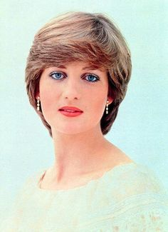 One of the official engagement portraits of Lady Diana Spencer, made by Lord Snowdon in 1981