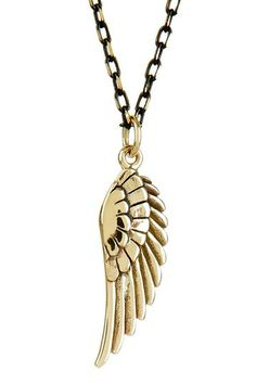 mariechavez Angel Wing Charm Necklace