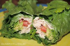 Paleo Turkey Club Wraps, these look so good. Need to try them