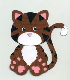 Tiger from Myscrapchick pattern