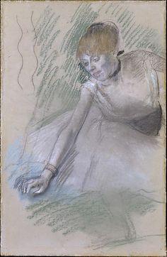 Degas (1834–1917). Dancer, 1880–85. The Metropolitan Museum of Art.