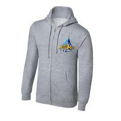 WrestleMania 29 Grey Full Zip Sweatshirt - #WWE