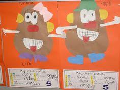 Five Senses Mr. Potato Head