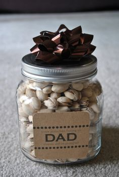 DIY: Fathers Day Gift, my Dad would have loved this.