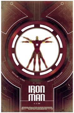 Iron Man Trilogy Posters /// 1/3