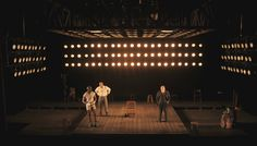 Andrew Boyce's Set Design for The Royale Lighting by Lap Chi Chu