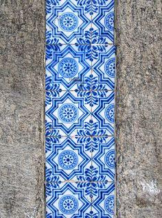 Azulejos antigos no Rio de Janeiro: Central V - Barão de São Félix