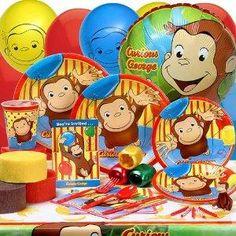 curious george birthday, happy birthdays, birthday theme, birthday parties, theme parties, 3rd birthday, birthday party themes, 2nd birthday, curious george party