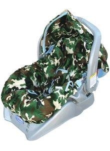 Camo Infant Car Seat Cover